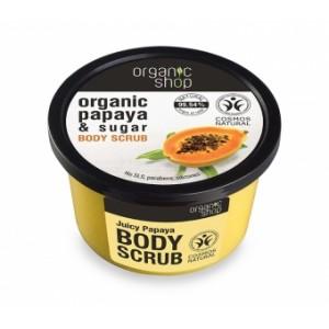 Cukrowy scrub z organiczną papają