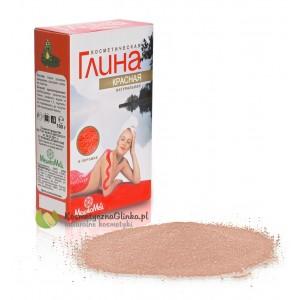 Glinka kosmetyczna czerwona M.Med
