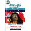 Maseczka oczyszczająco - odżywcza Dermaglin 20g