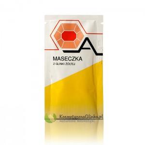 Glinka kosmetyczna żółta Argiletz