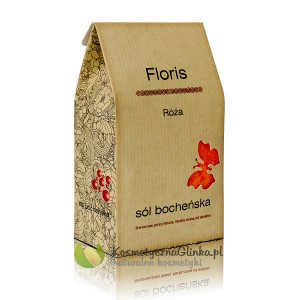 Sól Floris róża kartonik 0,6 kg