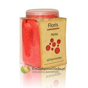 Sól Floris róża słoiczek 600g