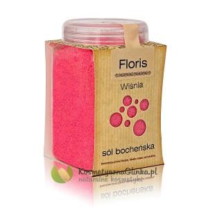 Sól Floris wiśnia słoiczek 600g