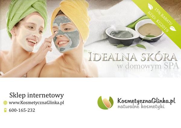 Rabat 15% na glinki kosmetyczne