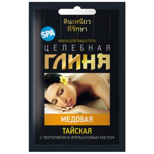 Glinka tajska miodowa Fitocosmetic do twarzy i ciała 30ml