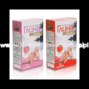 Zestaw 2 glinek MedikoMed: różowa i czerwona