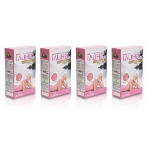 Zestaw 4 glinek różowych MedikoMed
